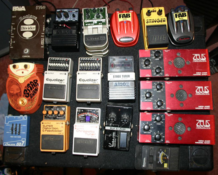 pedal collection