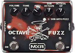 mxr octave fuzz slash signature sf01 180