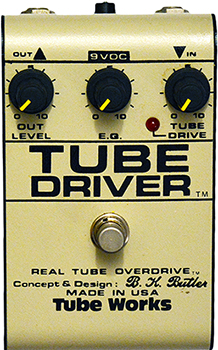 tube works tube driver 3 pots 350