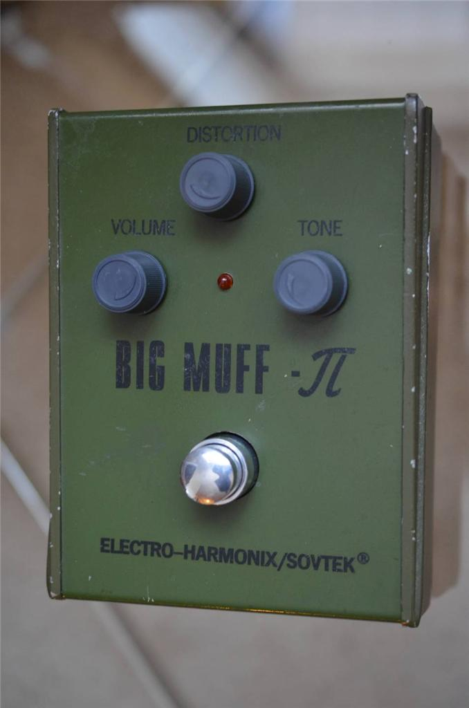 Sovtek Russian Big Muff Green V1