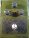 Big Muff V7b Civil War verde e nero